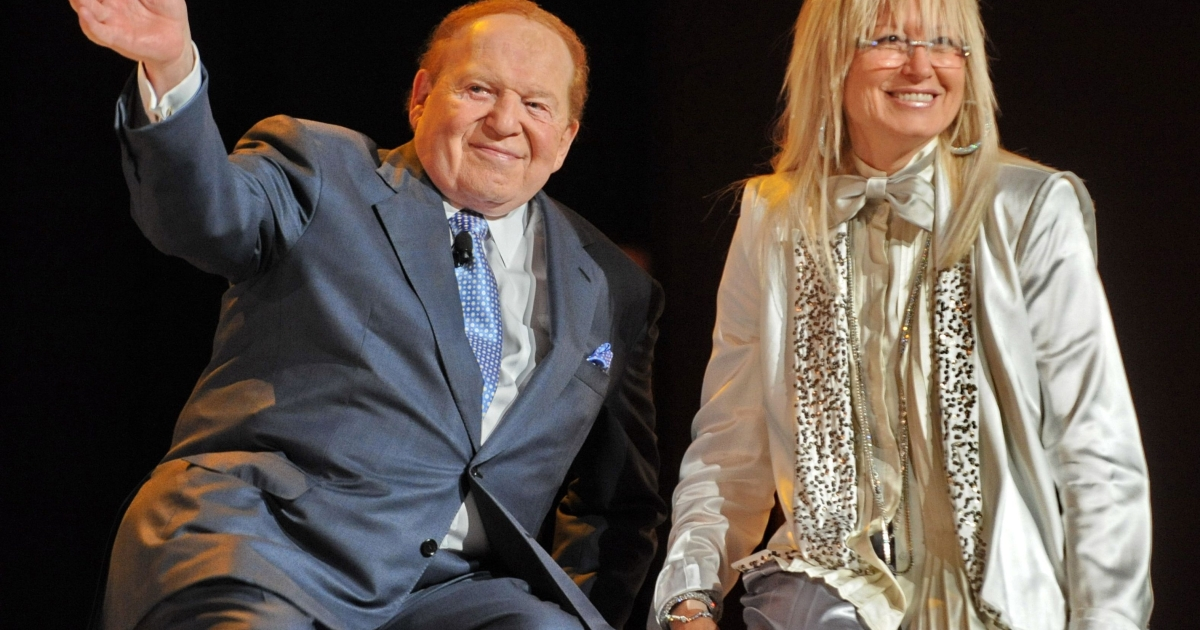 Miriam Adelson, an Israeli physician who married Sheldon Adelson in 1991, is to match her casino mogul husband's earlier $5 million donation to Winning Our Future, an independent group focused on securing Newt Gingrich's nomination by the GOP.</p>