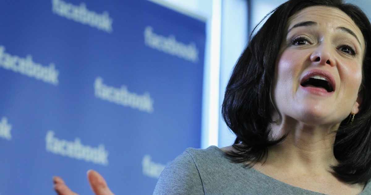 Sheryl Sandberg is the first woman to be appointed to Facebook's seven-man board of directors.</p>