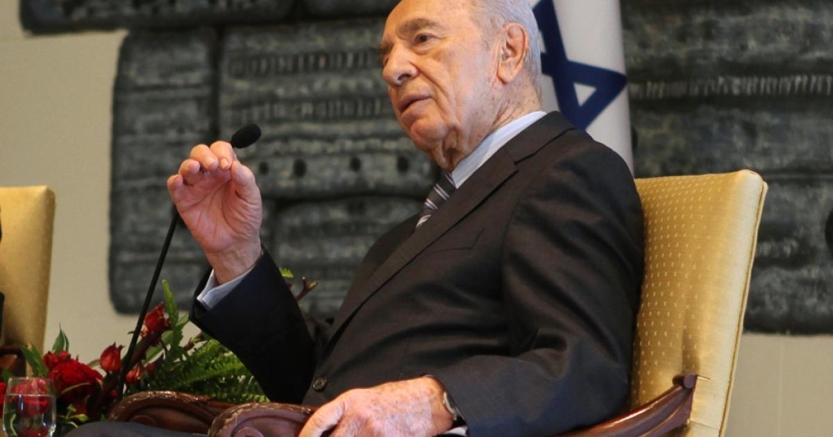 Israeli President Shimon Peres.</p>