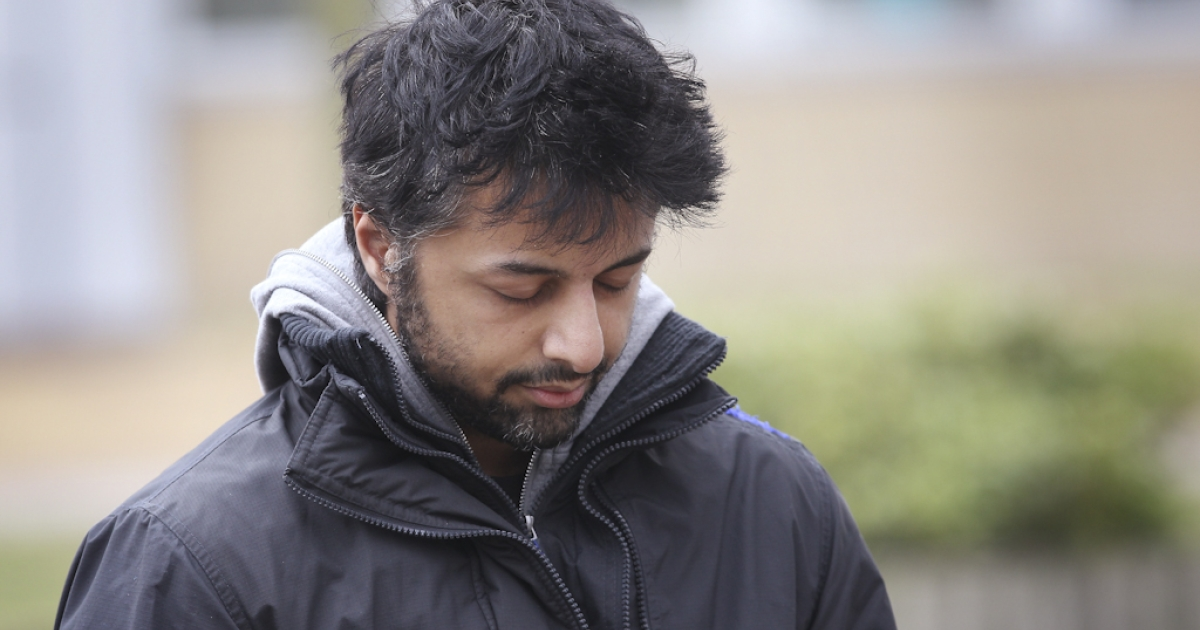 Shrien Dewani leaves Belmarsh Magistrates Court on March 15, 2011 in London, England. Dewani is fighting extradition to South Africa after authorities there want him to stand trial for allegedly hiring a hit man to kill his bride Anni on their honeymoon. On September 28, 2011, the UK secretary of state signed an extradition order for Dewani to be tried in South Africa.</p>