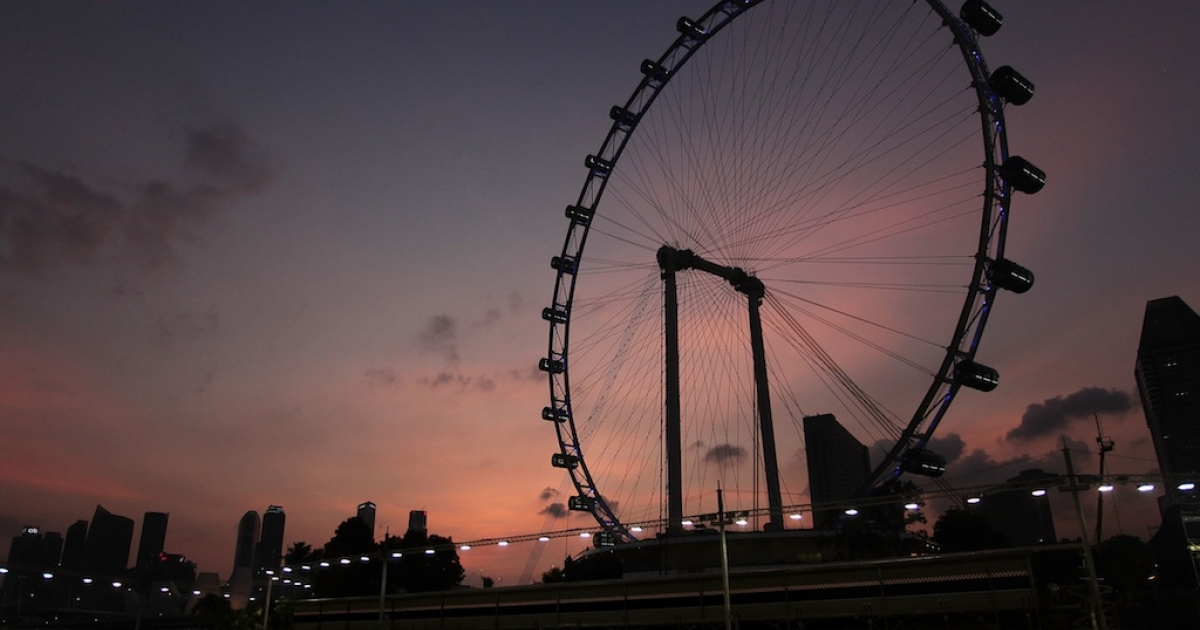 The New York Wheel is going to be taller than the world's current tallest Ferris Wheel, the Singapore Flyer.</p>
