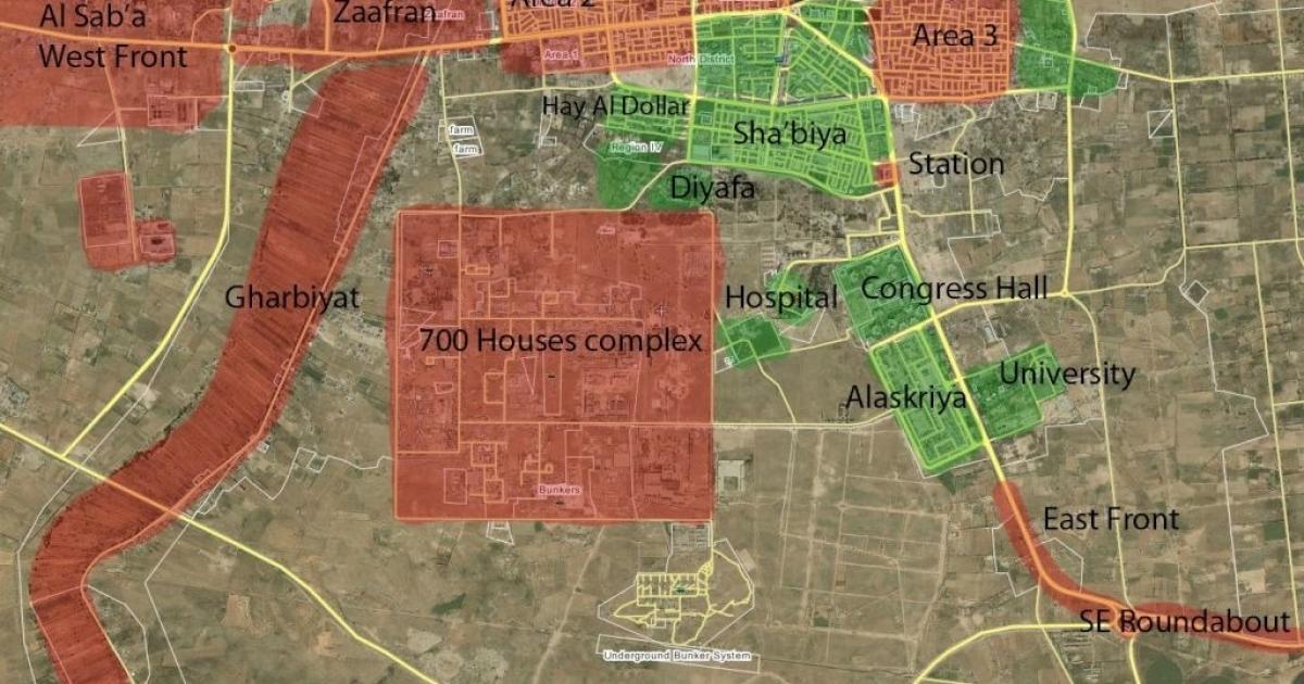 A strategic map of Sirte, Muammar Gaddafi's hometown, used by rebel soldiers.</p>