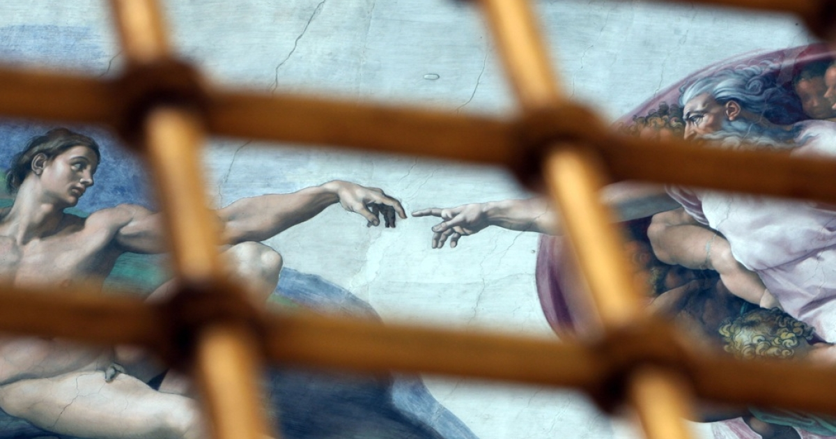 The Sistine Chapel at the Vatican in Rome, Vatican City on January 11th, 2009.</p>