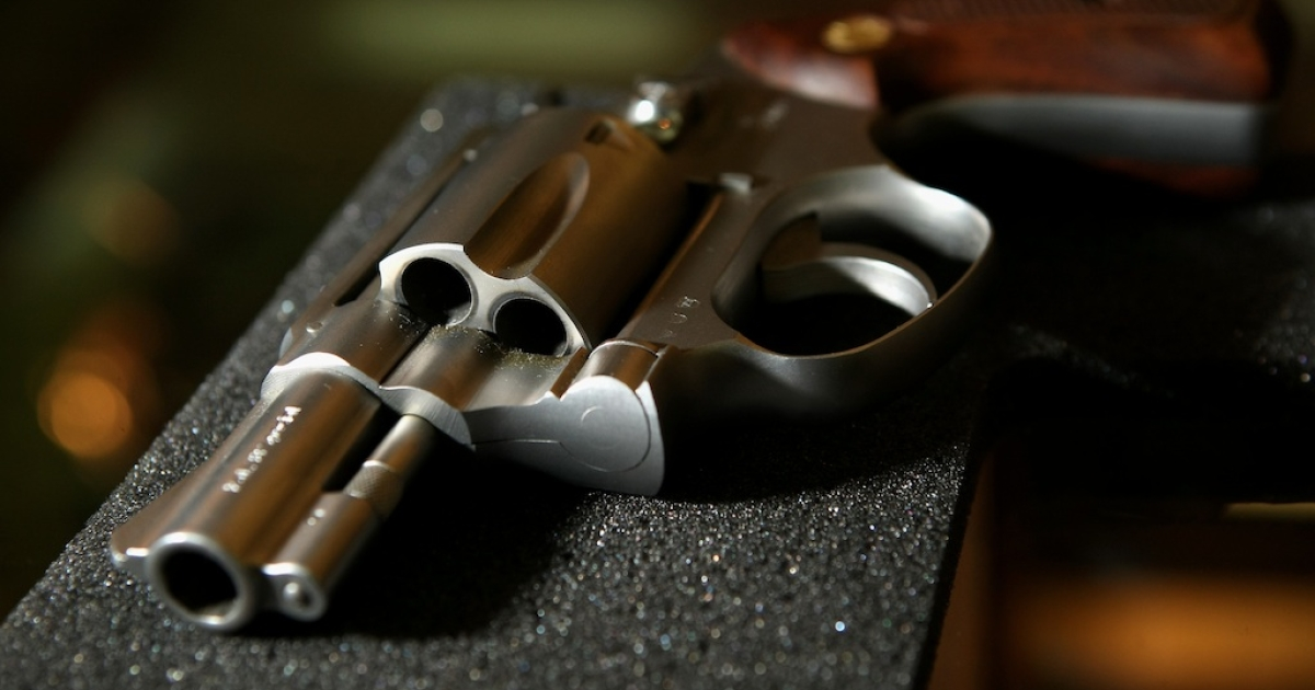 Detroit police officer Issac Parrish was carrying a loaded Smith &amp; Wesson that misfired and killed a 24-year-old.</p>