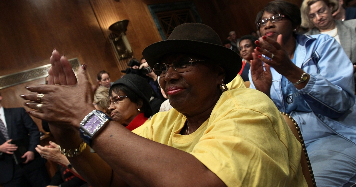 Seniors and workers against cuts to Social Security, Medicare and Medicaid potentially proposed by the Joint Deficit Reduction Committee, or
