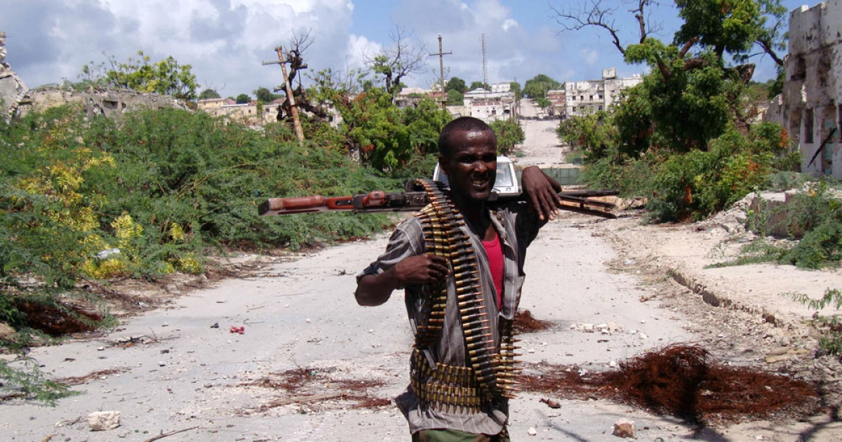 Getting closer. Somali government soldiers, advancing alongside African Union troops, have established new front lines close to the souther edge of  Mogadishu's Bakara Market, a stronghold of the al-Shabaab insurgents.</p>
