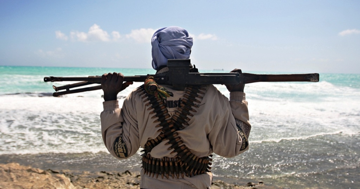 An image from a fighter in Somalia on December 5, 2012.</p>