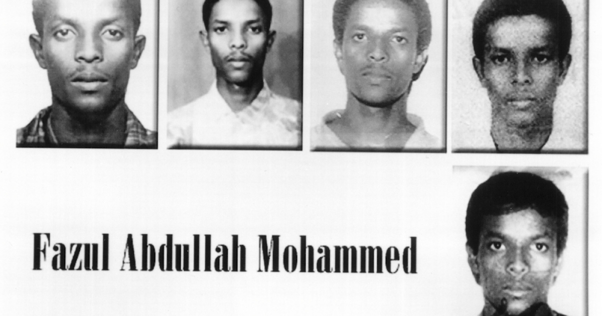 Fazul Abdullah Mohammed, a suspected terrorist wanted in connection with the 1998 bombings of the U.S. embassies in Tanzania and Nairobi, is shown in a photo released by the FBI in 2001. He was reportedly killed in a shootout with police at a checkpoint in Somalia's capital, Mogadishu, in June 2011.</p>