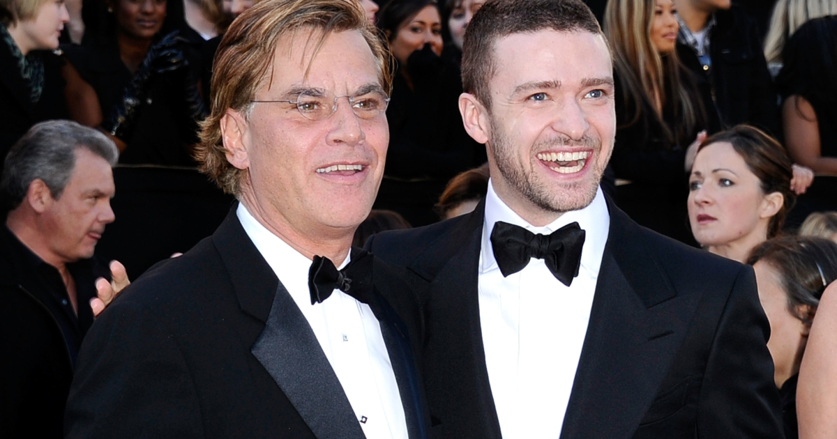 Writer Aaron Sorkin with