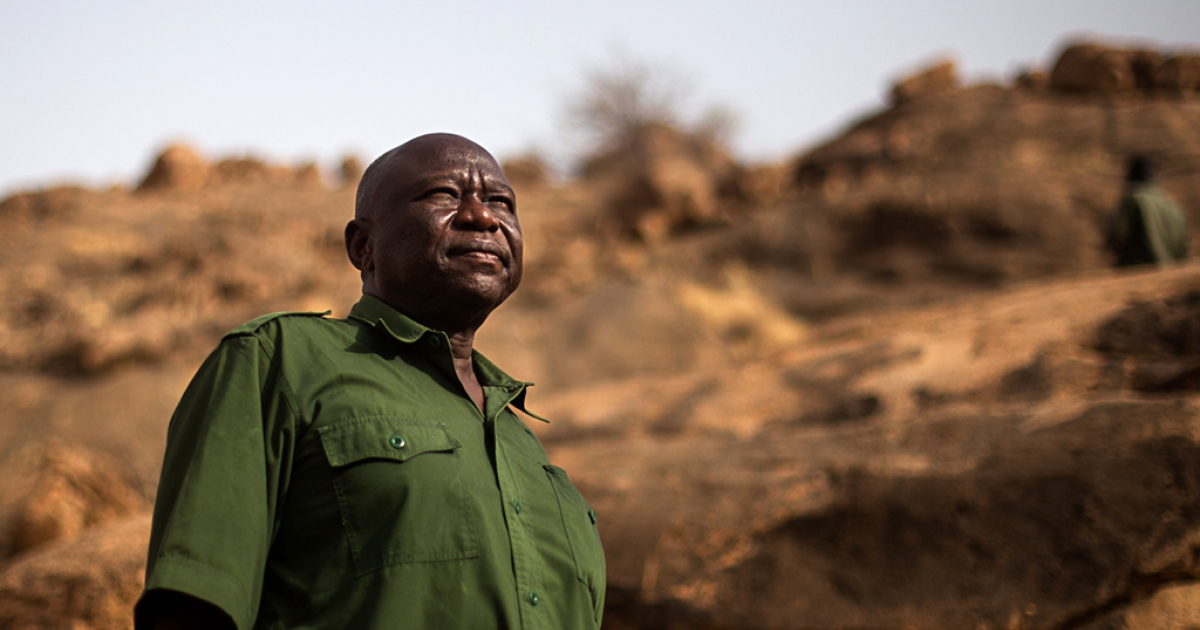 SPLA-North General  Abdulaziz Adam Al-Hilu, who is working to unite his rebels with other Sudanese rebel groups fighting against Sudanese President Omar al-Bashir's government.</p>