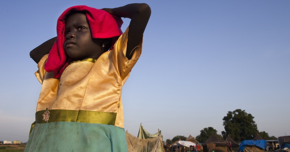 A girl stands in Juba, capital of South Sudan, the world's newest country. Hillary Clinton visited Juba this week amid reports that Joseph Kony and the Lord's Resistance Army had returned to Sudan and were hiding in Darfur, threatening the peace Clinton is trying to maintain between the two countries.</p>