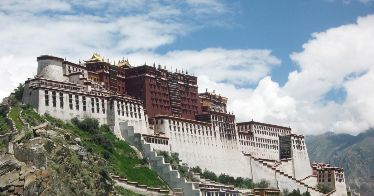 Potala Palace, Lhasa, Tibet.</p>