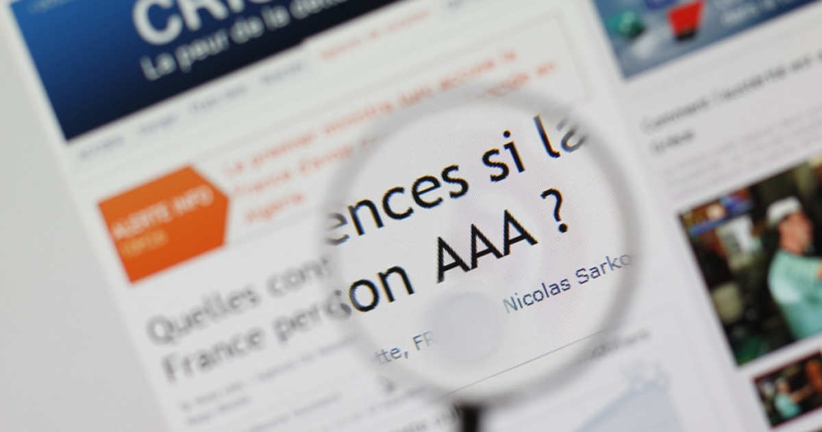 Going, going, gone.  Rumor has it France is about to lose its AAA rating form Standard &amp; Poor's.  What will that mean for the euro zone debt crisis?</p>