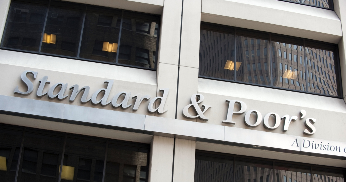 The Standard &amp; Poor's office in New York City.</p>