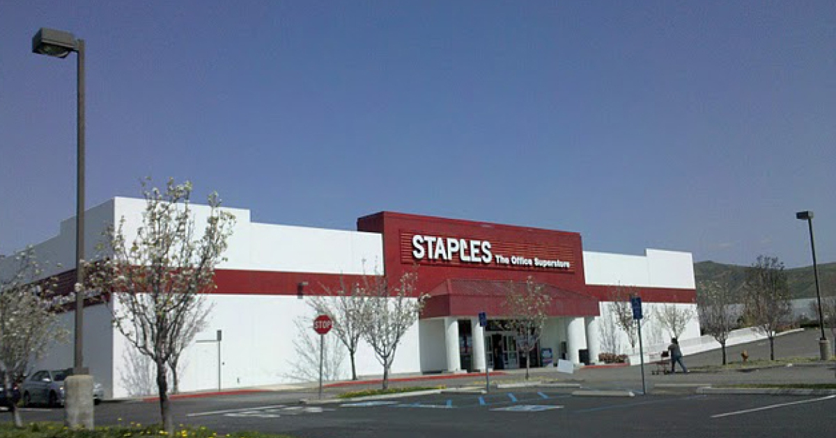 Staples, office supply retailer, said Tuesday that it was closing 60 stores to save $250 million.</p>