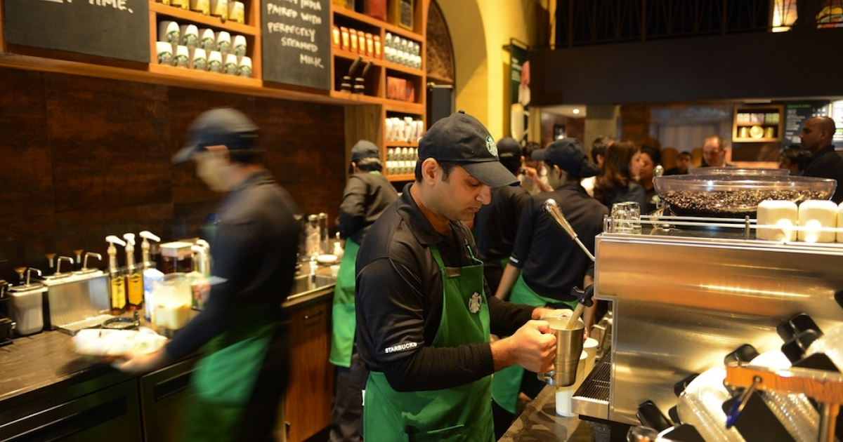 Starbucks CEO Howard Schultz is asking employees at all DC area coffee shops to write 'Come Together' on their cups to encourage Congress to put together a deal to avoid the fiscal cliff.</p>