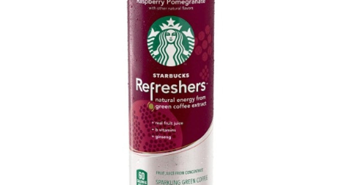 Starbucks unveiled a new energy drink line March 22, 2012. Starbucks Refreshers, available now in select areas, come in three different flavors and are made with fruit juice and green coffee extract.</p>