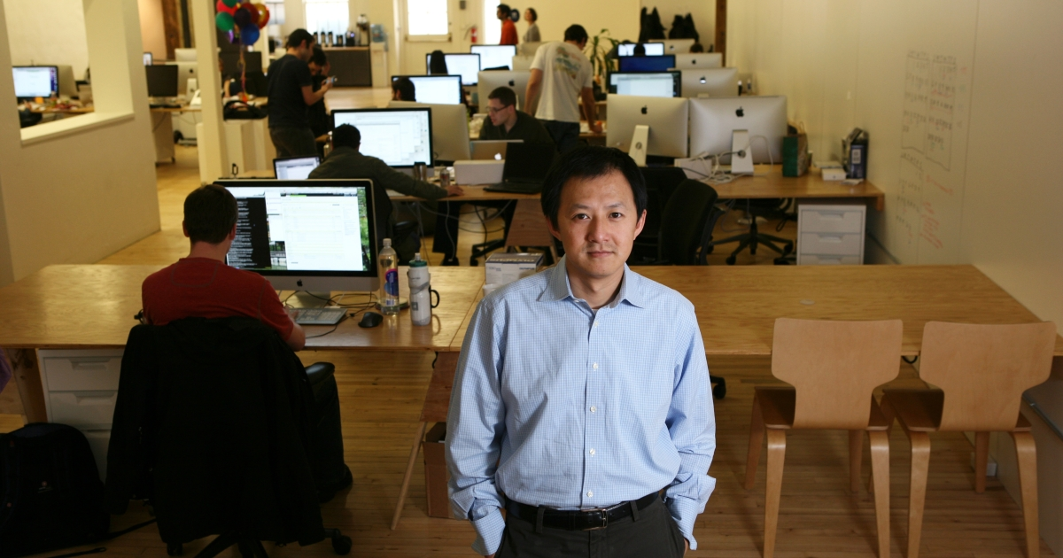 Bill Nguyen, founder of Color, a new startup company based in Palo Alto, Calif., at the firm's headquarters on Mar. 21, 2011.</p>