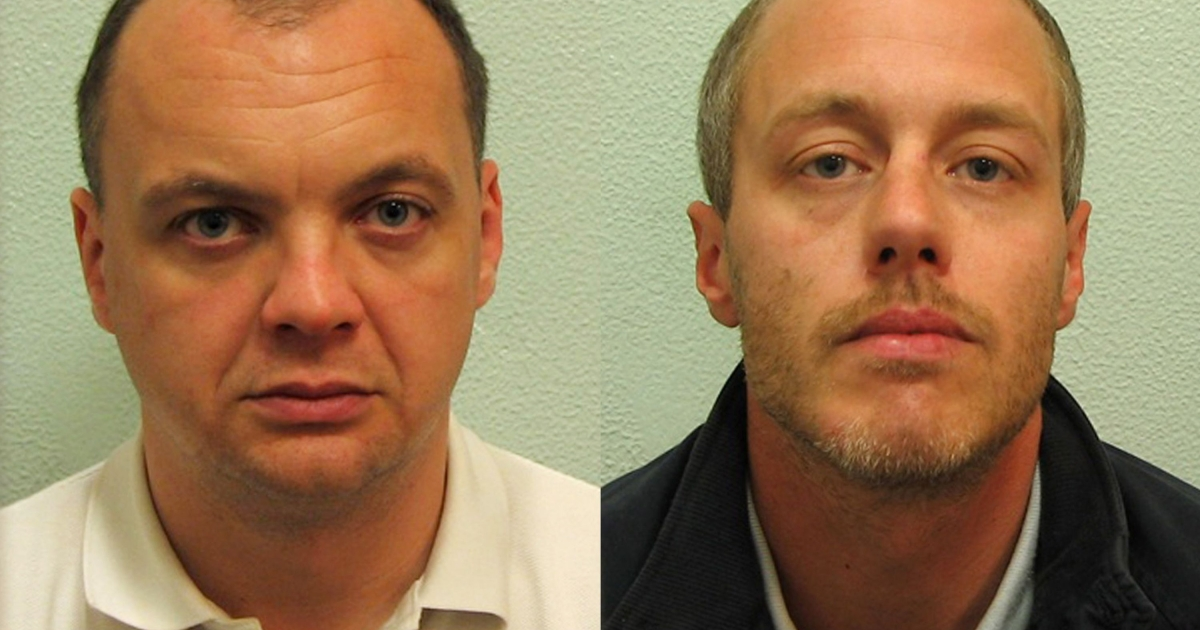 Gary Dobson (L) and David Norris were found guilty at the Old Bailey in London of the April 1993 murder of Stephen Lawrence after new scientific evidence tied both men to the killing.</p>