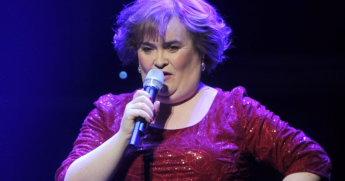 Susan Boyle, doesn't appear in the bio-musical of her life, but she does sing the encore.</p>