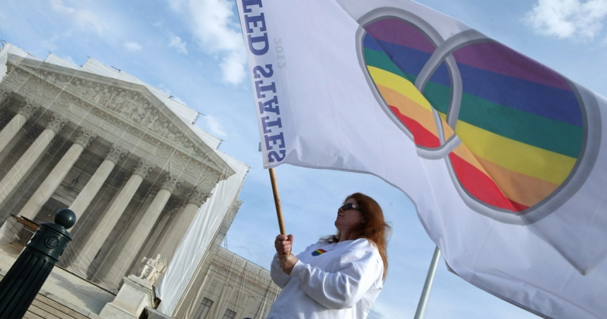 The Supreme Court is expected to rule on California's Proposition 8 after striking down the Defense of Marriage Act as unconstitutional on June 26, 2013.</p>