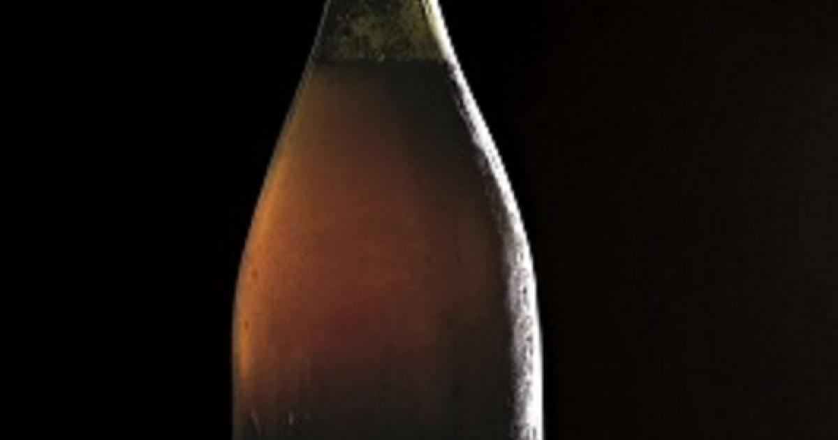 The rare bottle of 'Vin Jaune' from 1774 has been stored for eight generations in a vaulted underground cellar by the Vercel family.</p>