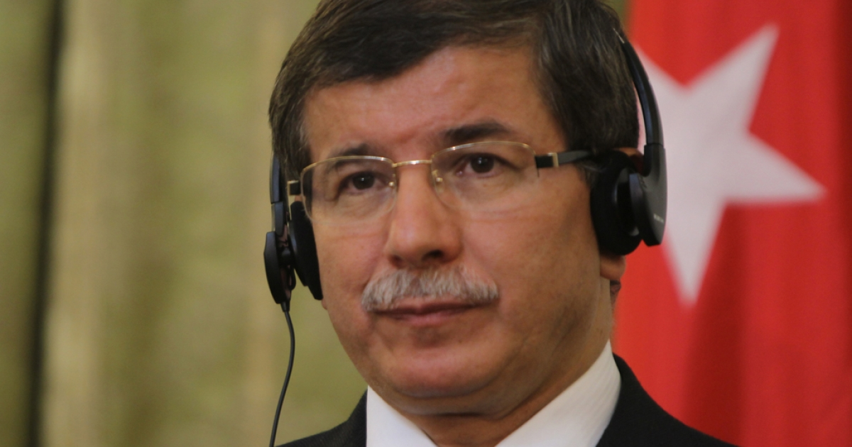 Turkish Foreign Minister Ahmet Davutoglu will be eager for a positive response from Syria during their talks today</p>