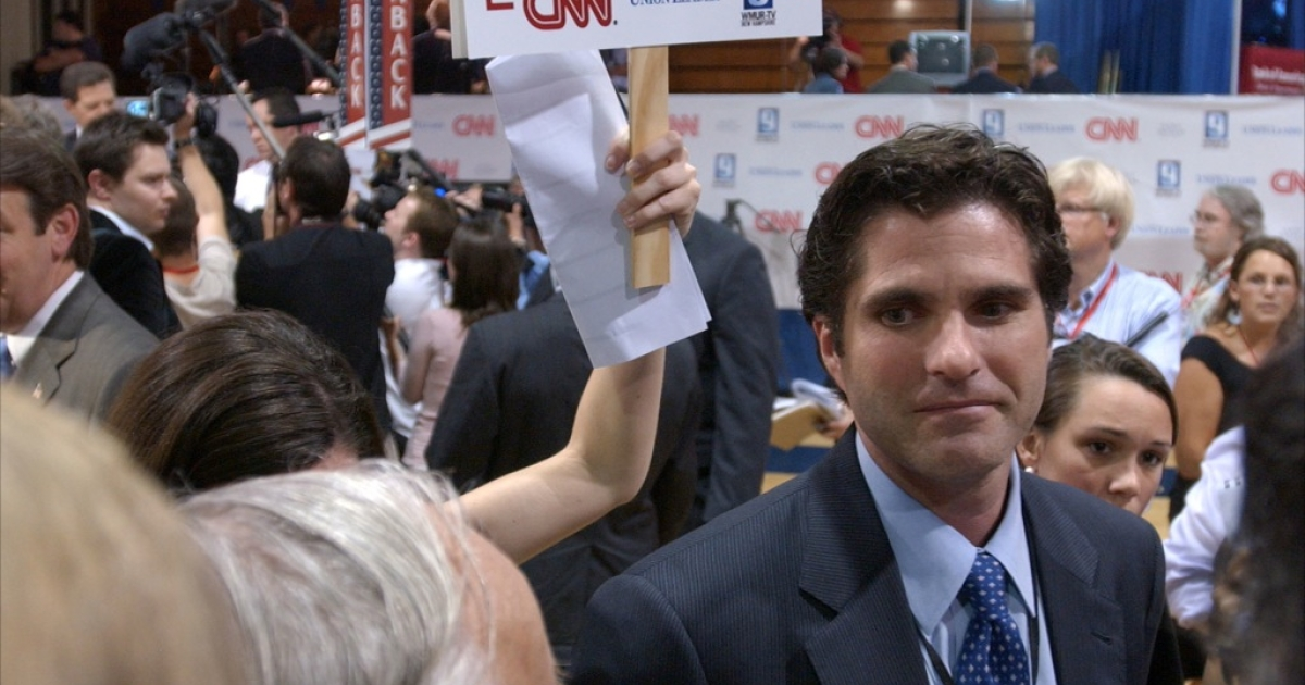 Eldest son, Tagg Romney, 42, has taken on a high profile role on his father's campaign trail.</p>