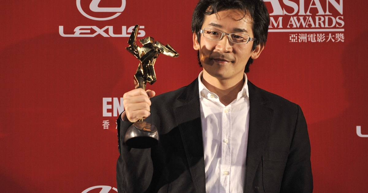 Taiwanese director Wei Te-sheng at the Asian Film Awards 2009 in Hong Kong on March 23, 2009.</p>