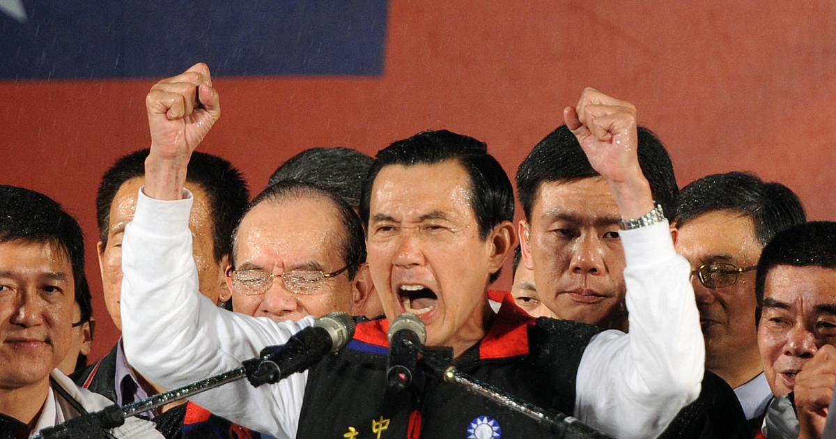 Taiwan voters reelect President Ma Ying-jeou.</p>