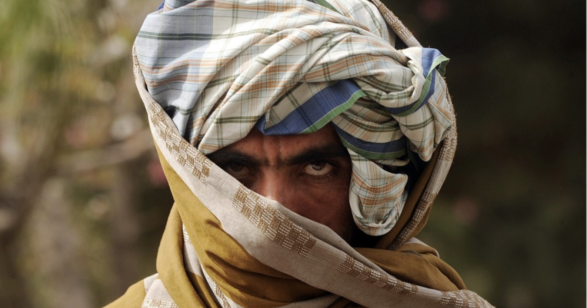 A former Taliban fighter.</p>