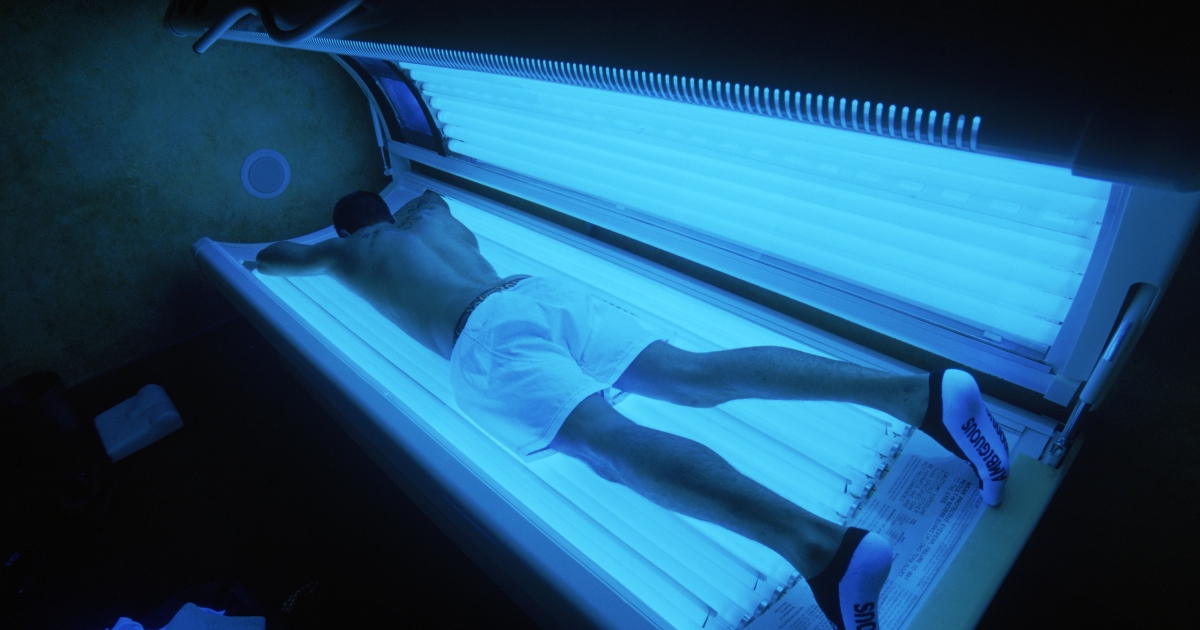 A study shows tanning beds can be physically addictive.</p>