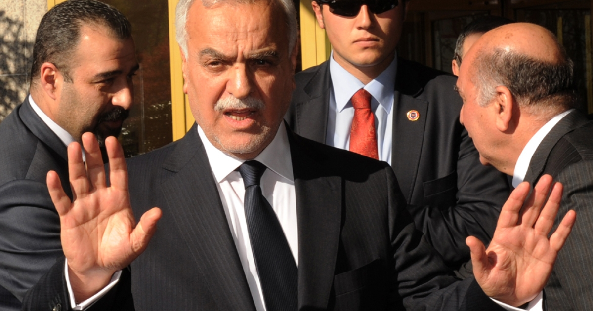Iraqi Vice President Tariq al-Hashemi was charged with killing six judges and a series of other crimes on April 30, 2012. Hashemi, who has sought refuge in the Kurdish north of Iraq is currently in Istanbul, Turkey and will not appear at his trial.</p>