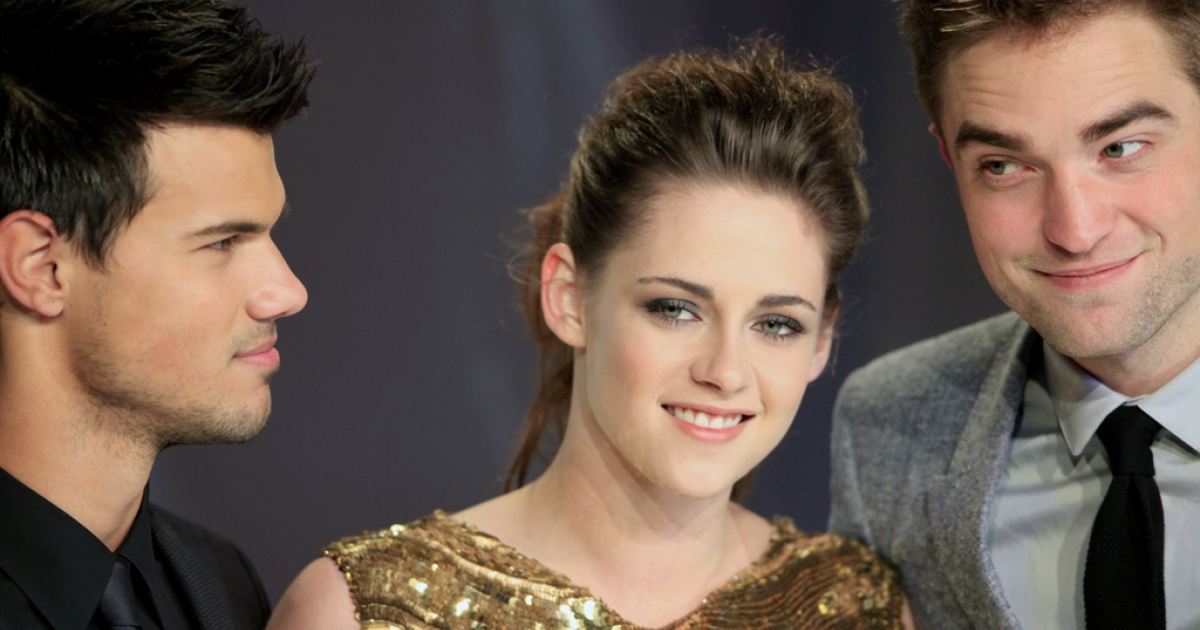 Taylor Lautner, Kristen Stewart and Robert Pattinson at the German premiere of