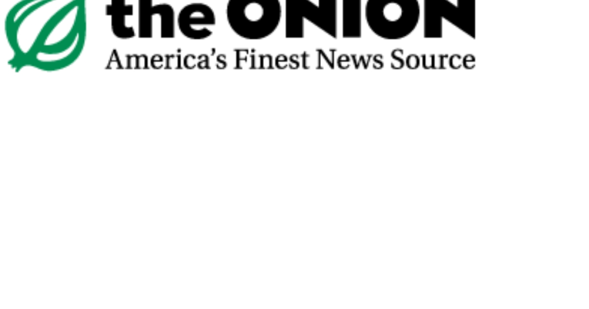 Logo of the satirical news agency The Onion.</p>