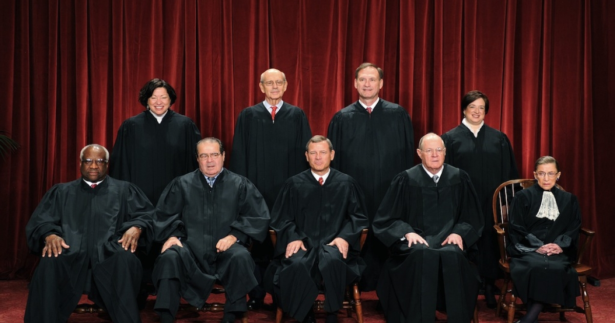 Only four of the nine justices need to agree to take on a case. They could decide to hear cases related to the Defense of Marriage Act and Proposition 8 this week.</p>
