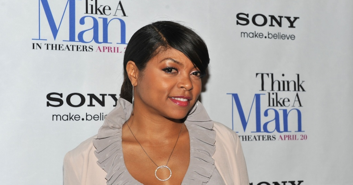 Taraji P. Henson attends the 'Think Like a Man' screening at the AMC Empire 25 theater on April 4, 2012 in New York City.</p>