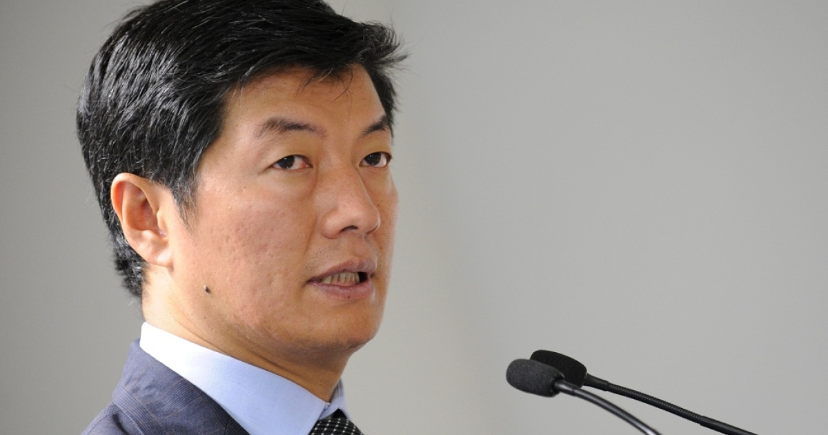 Prime Minister of the Tibetan government in exile, Lobsang Sangay, says China is
