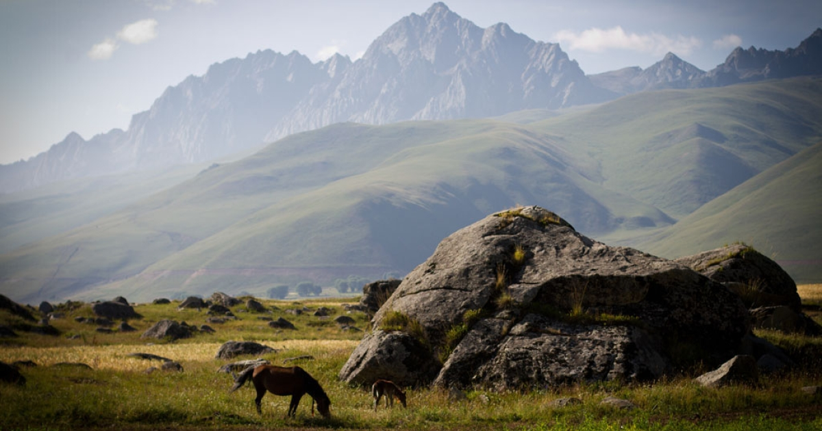 Sichuan, Tibetan plateau, China, Aug. 21, 2011.</p>
