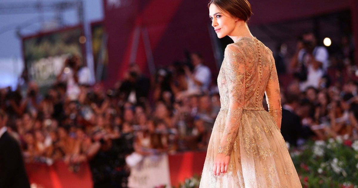 You might even see Keira Knightley, shown here posing glamorously in Venice.</p>