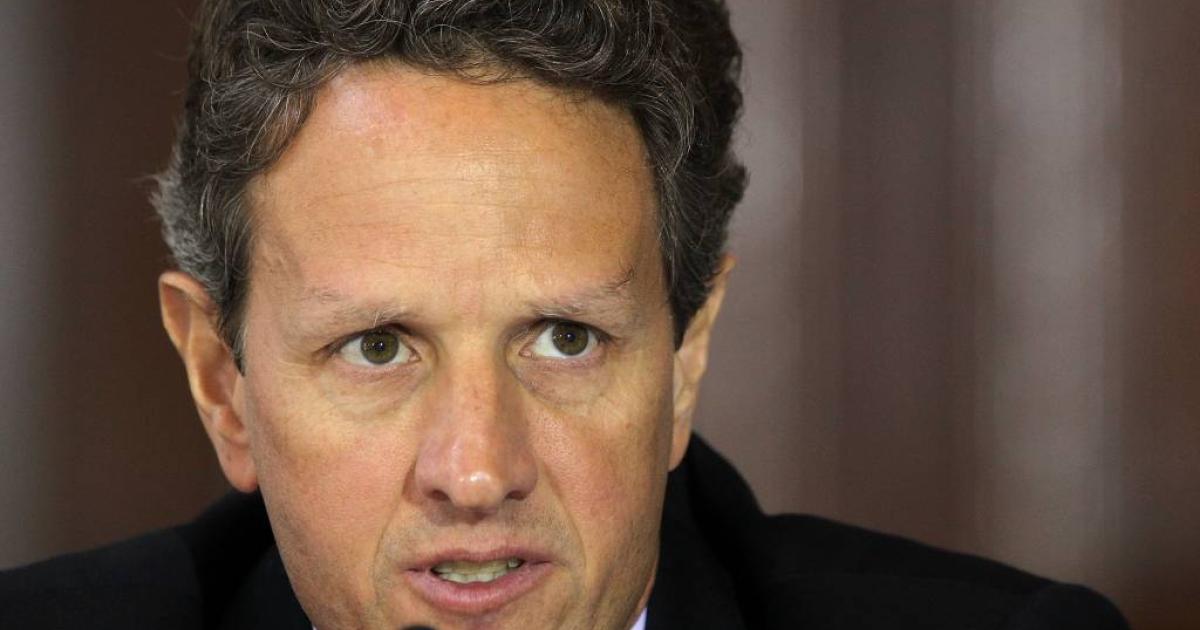 U.S. Treasury Secretary Timothy Geithner.</p>