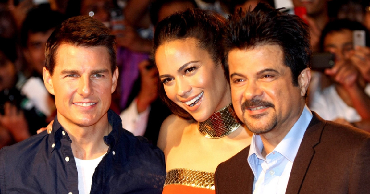 Tom who?  I'm know the guy on the right is Anil Kapoor, the star of Mr. India and other Bollywood hits, and I'm pretty sure the woman in the center is Paula Patton.  But I'm a little fuzzy about the guy on the left.</p>