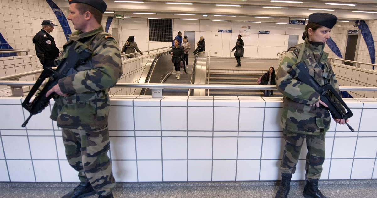 Security is super-tight in Toulouse as the hunt for the killer of Jewish school children and immigrant soldiers intensifies.</p>