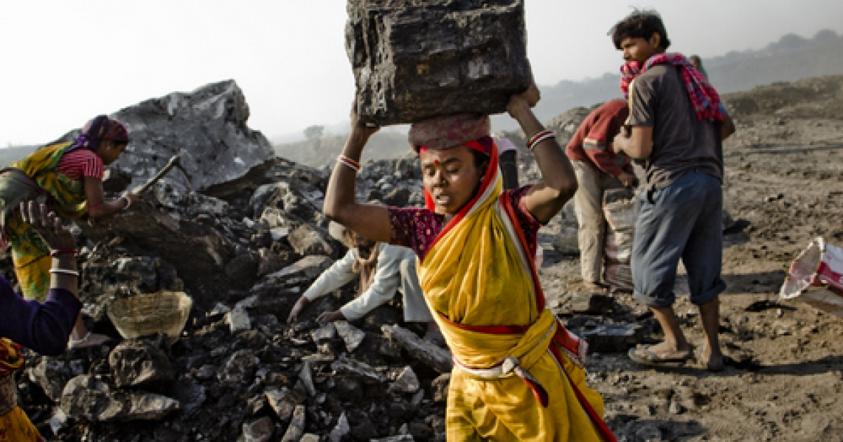 Villagers in India's Eastern State of Jharkhand scavenge coal illegally from open-cast coal mines to earn a few dollars a day. If not for the government's wholesale appropriation of their ancestral lands, however, the lot of it would belong to them.</p>
