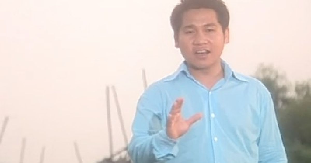 Trong Tan, a Vietnamese singer famous for patriotic war anthems.</p>