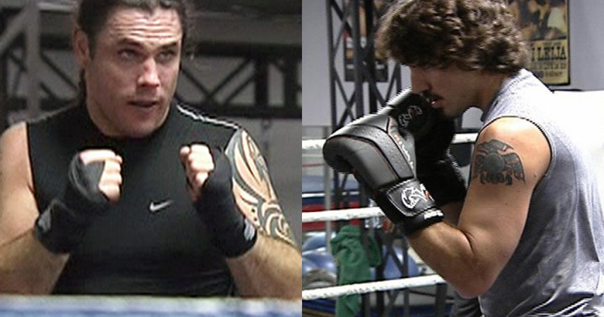 Conservative Sen. Patrick Brazeau, left, and Liberal MP Justin Trudeau are to box for charity on March 31 in Ottawa.</p>