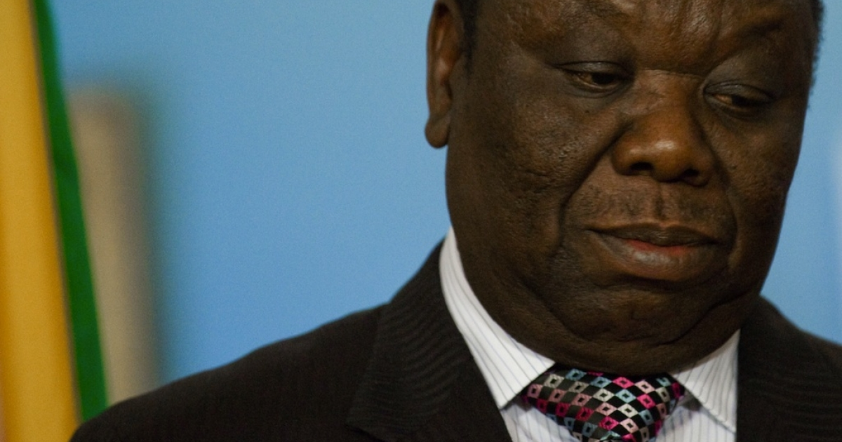 Zimbabwe's Prime Minister Morgan Tsvangirai, shown here in Washington on May 10, 2010, has called off plans to remarry.</p>