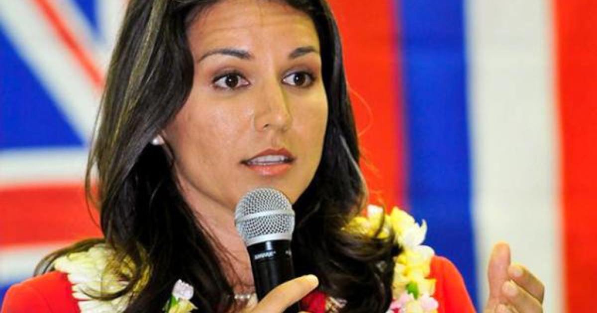 Tulsi Gabbard, Hawaii's congressional candidate, will be speaking at the Democratic National Convention. If elected, the 31-year-old Iraq War veteran would be the first Hindu-American in Congress.</p>