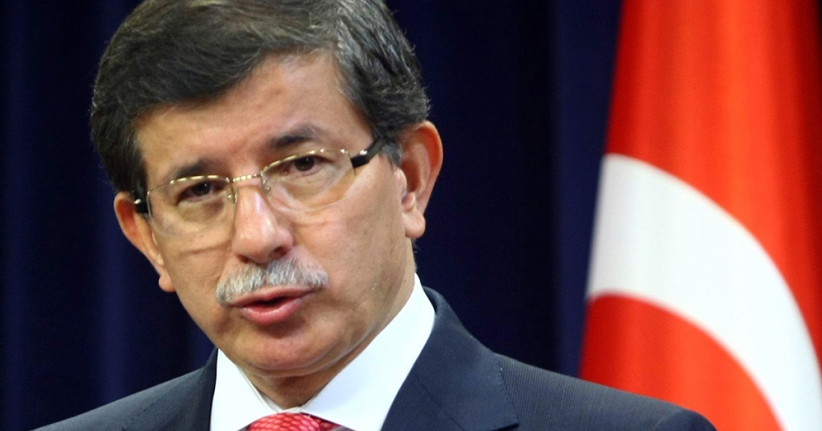 Turkey's Foreign Minister Ahmet Davutoglu at a news conference in Ankara on Sept. 2, 2011. Turkey expelled the Israeli ambassador and suspended all military ties with its one-time ally after a U.N. report condemned excessive force used by Israel on a Gaza aid flotilla.</p>