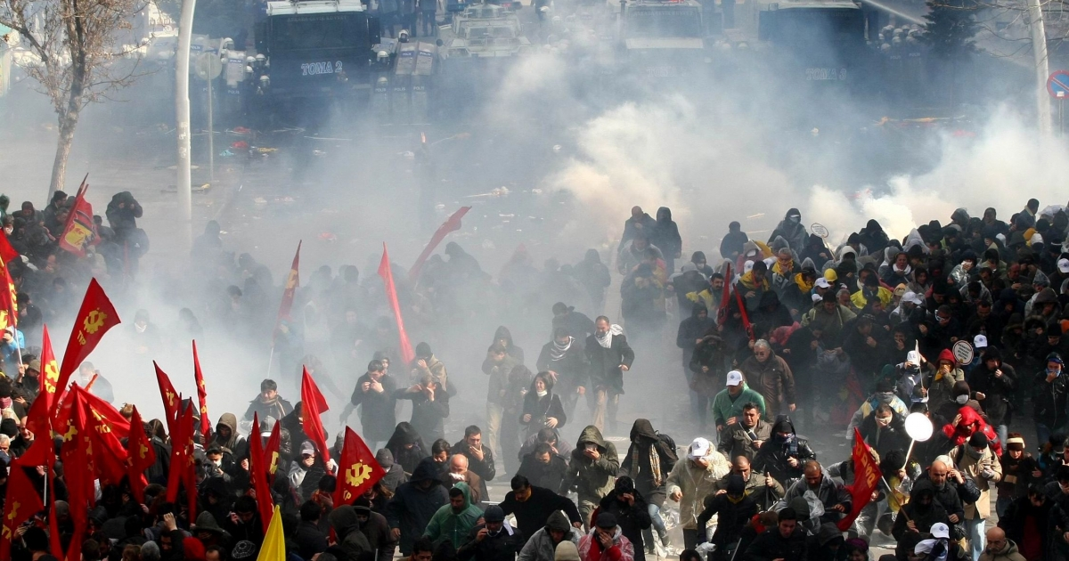Brawls erupted in parliament earlier this month after the governing AK Party forced the bill through the committee stage without any real public debate, and police had to employ water cannon and tear gas to disperse thousands of protesters on Thursday in Turkey's capital city of Ankara.</p>